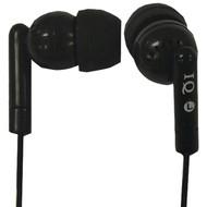 Supersonic IQ-106 BLACK Porockz Stereo Earphones (Black) (R-SSCIQ106BLACK)