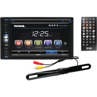 "SOUNDSTORM DD765BR 6.5"" Double-DIN In-Dash Touchscreen Multimedia Player with Bluetooth(R) & License-Plate Camera (R-SSLDD765BR)"