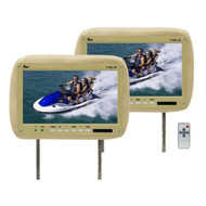 """Monitor 11.2"""" Widescreen Tan In Headrest;Tview;Remote (R-T110PLTAN)"""
