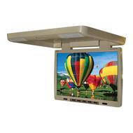 "Tview 15.4"" Flip Down Monitor With Built In Dvd Ir/Fm Trans Tan (R-T154DVFDTAN)"