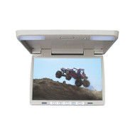 "MONITOR 15.4"" TVIEW OVERHEAD; TAN; REMOTE;  IR TRANSMITTER (R-T156IRTAN)"