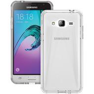 TRIDENT KR-SSGXJ3-CLDUL Samsung(R) Galaxy J3(R) Krios(R) Series Dual Case (Clear) (R-TENKRSSGCLDUL)