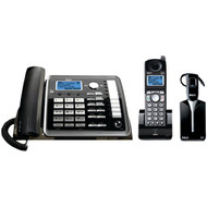RCA 25270RE3 2-Line Expandable Corded/Cordless/Headset Phone System with Caller ID & Answerer (R-TFD25270RE3)