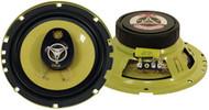 Pair Pyle PLG6.3 6.5'' 280 Watt Three-Way Speakers Car Audio