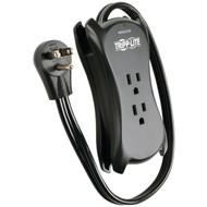 TRIPP LITE Traveler3USB 3-Outlet Travel-Size Surge Protector with 2 USB Ports (R-TRPTRAVELER3USB)