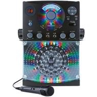 THE SINGING MACHINE SML385BTBK Bluetooth(R) CD+G Karaoke System (Black) (R-TSM385BTBK)