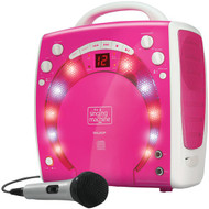 THE SINGING MACHINE SML283P Portable Karaoke Systems (Pink) (R-TSMSML283P)