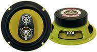 Pair Pyle PLG8.3 8'' 400 Watt Three-Way Speakers Car Audio