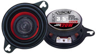 Pair Legacy LS328 3.5'' 120 Watt Two-Way Speakers Car Audio