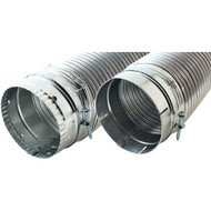 "BUILDERS BEST 110120 4"" x 8ft Dryer Vent Duct (R-VEN51)"