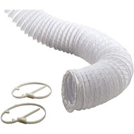 1303 Vinyl Vent Duct Kit (8ft) (R-VENCPH48W)