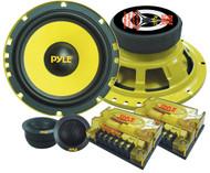 Pair Pyle PLG6C 6.5'' 400 Watt 2-Way Custom Component System