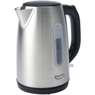 BETTY CROCKER BC-2855C 1.7-Liter Stainless Steel Cordless Kettle (R-WACBC2855C)