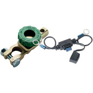 BATTERY DOCTOR 20309 Compact Battery Switch with Fused Bypass (Top Mount) (R-WIR20309)