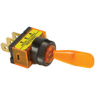 BATTERY DOCTOR 20502 On/off Illuminated 20-Amp Toggle Switch (Amber) (R-WIR20502)