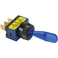 BATTERY DOCTOR 20503 On/off Illuminated 20-Amp Toggle Switch (Blue) (R-WIR20503)