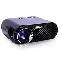 Compact Color Pro Digital Projector, HD 1080p Support, Built-in Speakers, HDMI/USB/VGA (R-PRJLE64)