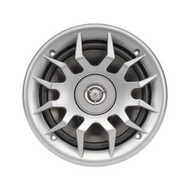 """New Magnadyne WR6LS 6 1/2"""" 6.5 Inch 2-Way Waterproof AquaVibe Speaker with Silver Grill (R-WR6LS)"""