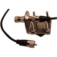 BROWNING BR-MM-18 Mirror-Mount Kit with CB Antenna Coaxial Cable (R-WSPBRMM18)