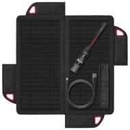 Noco 9W Foldable Solar Panel W/Xgb3L 11Wh Usb Battery Pack And Led Flashlight (R-XGS9USB)