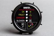 """Xintex G-1BB Gas Detector 2"""" Flush Mount Black Blower Contr (R-XING1BBR)"""