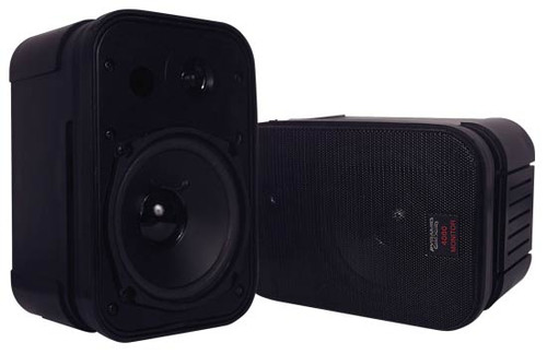 Pyramid 4080 High Performance 400Watt Book Case Speaker System Monitor Style Bass Reflex