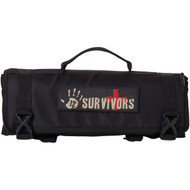 12 SURVIVORS TS42000B First Aid Rollup Kit (R-YUKTS42000B)