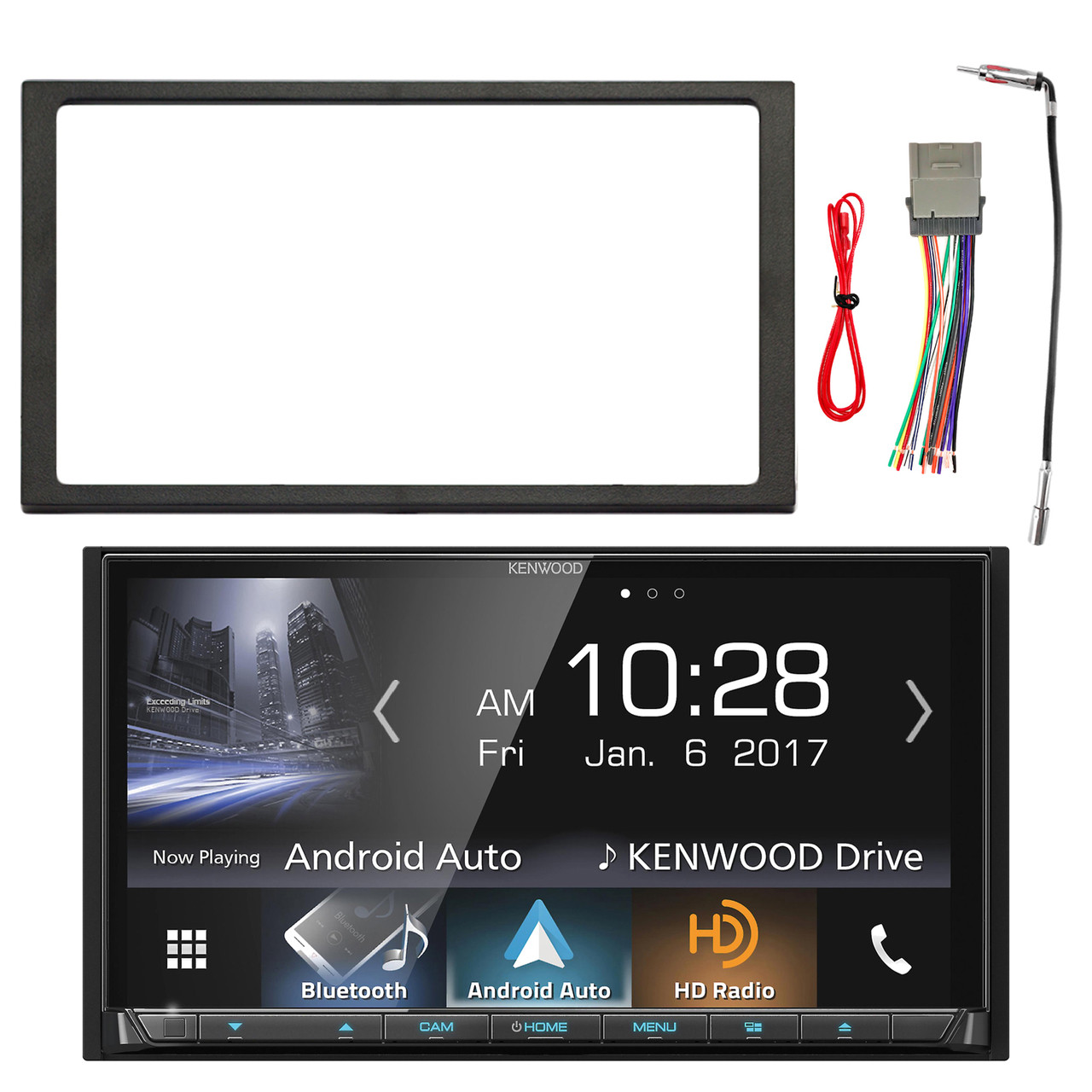 Pioneer Double Din Bluetooth Mixtrax Cd Receiver 4x 65 Speakers Car Stereo Radio Dash Installation Mounting Kit W Wiring Harness Enrockautomotive