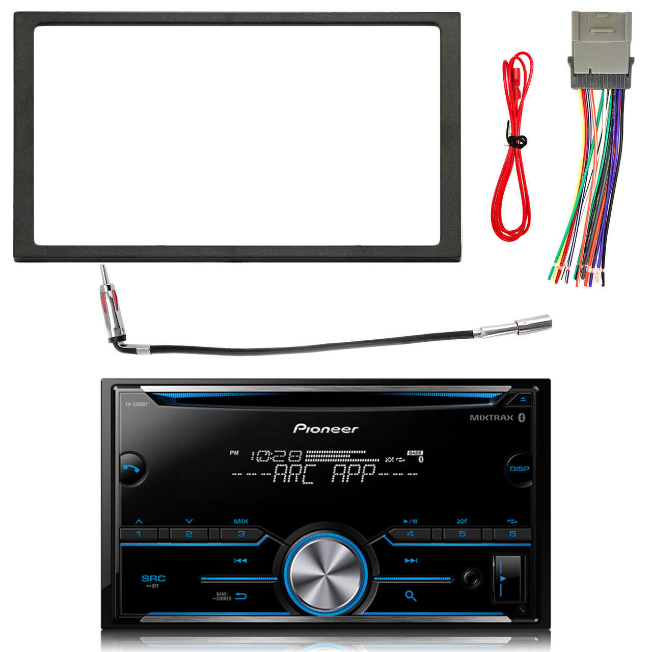 Pioneer Double Din Bluetooth Mixtrax Cd Receiver 4x 65 Speakers Stereo Wiring Harness Enrockautomotive