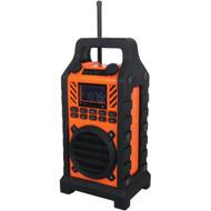 SYLVANIA SP303 ORANGE Bluetooth(R) Outdoor Water-Resistant Speaker (R-CURSP303OR)