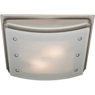 HUNTER 90064 Ellipse 100cfm Ceiling-Exhaust Bath Fan (Brushed Nickel) (R-HHC90064)