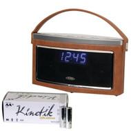 Jensen Smps-725 Bluetooth Stereo Speaker With Am/fm Radio & Kinetik Aa 50pkpk (R-KITUBCBATT42)