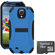 Trident S4 Aegis Case Blue With Sandisk Micro Sd 16gb (R-KITS4BLA16)