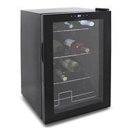 Compact Beverage Fridge Cooler – Wine Bottle & Can Beverage Chilling Refrigerator