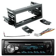 Pioneer DIN CD MIXTRAX Bluetooth Radio w/ Scosche Kit, Harness, Antenna Adapter