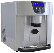 NutriChef PICEM75.0 Ice Maker and Dispenser, Silver