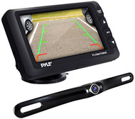 Pyle Upgraded Wireless Backup Camera & Monitor - IP67 Waterproof & Fog Resistant