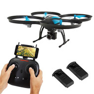 SereneLife WiFi FPV Drone with HD Camera & Live Video - Headless Mode Quadcopter