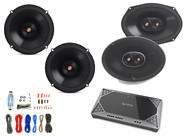 "2x Infinity Primus 6.5"" 2-Way Speakers, 2x 6x9"" 3-Way Speakers,  Amplifier + Kit"