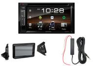 Kenwood DVD Bluetooth Radio, Metra Polaris Splash Guard, 12 Volt Signal Booster