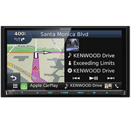 Kenwood DNX874S In-Dash Navigation DVD Receiver with Apple CarPlay & Android Auto