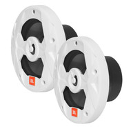 "JBL Club Marine MS8W 8"" 2-Way Marine Audio Multi-Element Speakers (Pair, White)"