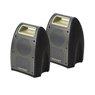 "2 x Kicker Bullfrog 400 Bluetooth and FM Outdoor Audio System w/ 3"" Drivers (Green)"
