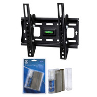 "Tuff Mount 3 Piece HDTV Wall Mount Kit for 13""- 42"" TV Screen Monitors, LCD Screen & Cleaning Eraser Cleaning Kit"