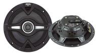 Pair Lanzar VC62 Vector 6.5'' 200 Watts 2-Way Slim Speakers Car Audio