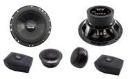 Lanzar MX6C 6.5'' 200 Watts 2 Way Component Speaker System Car Audio