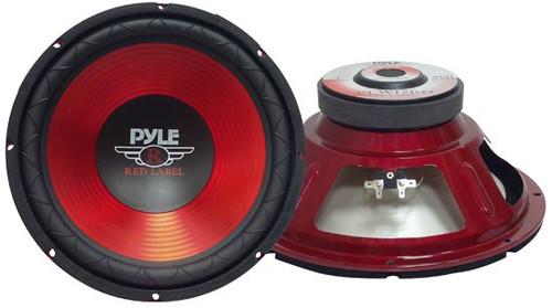 1 x  Pyle PLW1 x 0RD 1 x 0'' 600 Watt Subwoofer Sub Car Audio