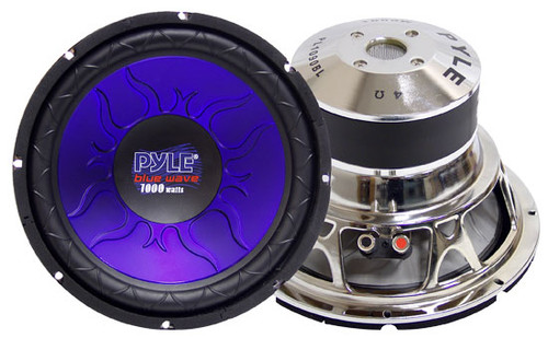 1 x  Pyle PL1 x 290BL 1 x 2'' 1 x 200 Watt DVC Subwoofer Sub Car Audio