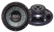 "1 x  Lanzar VCW1 x 2D Vector 1 x 2"" Dual 4 Ohm Shallow Subwoofer Sub Car Audio"