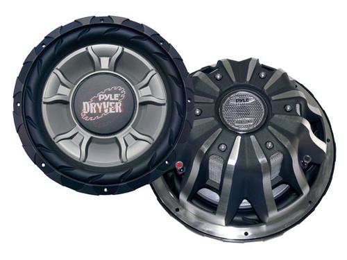 1 x  Pyle PLD1 x 2WD 1 x 2'' 3200 Watt DVC Subwoofer Sub Car Audio